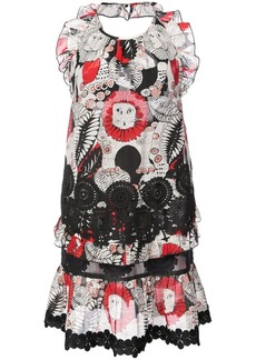 Anna Sui Love Leo halter dress