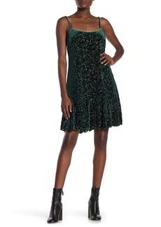 Anna Sui Velvet Burnout Slip Dress