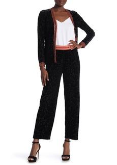Anna Sui Velvet Burnout Pants