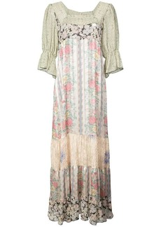 Anna Sui Whisper Rose maxi dress