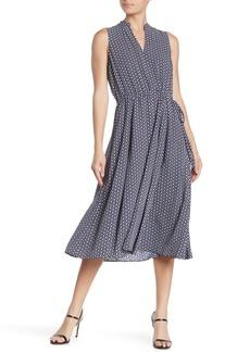 Anne Klein Abbess Drawstring MIdi Dress