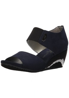 AK Anne Klein Sport Women's Carisma Fabric Wedge Sandal