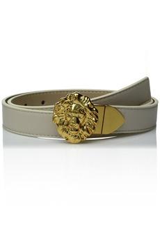 Ak Anne Klein Women's Anne Klein 25mm Reversible Belt With Lion Logo Buckle  L