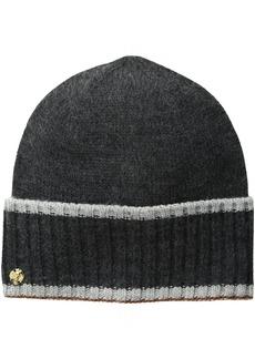 AK Anne Klein Women's Cuffed Hat with Tipping