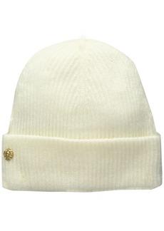 Anne Klein AK Women's Fisherman Rib Cuff Hat
