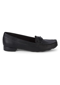 Anne Klein Akhadler Medallion Loafers