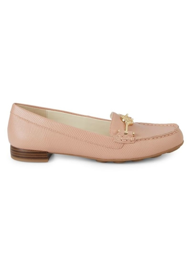 Anne Klein Akhermosa Embossed Loafers