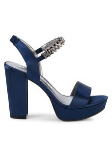 Anne Klein Aklinnea Embellished Platform Sandals