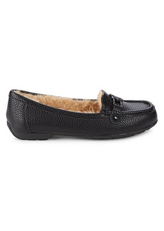 Anne Klein Akokey Faux Fur-Lined Loafers