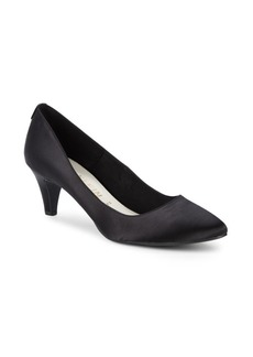 Anne Klein Rosalie Textured Point Toe Pumps