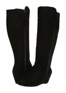 Anne Klein Alanna Wedge Boot Wide Calf