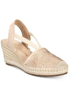 Anne Klein Abbey Espadrille Platform Wedge Sandals