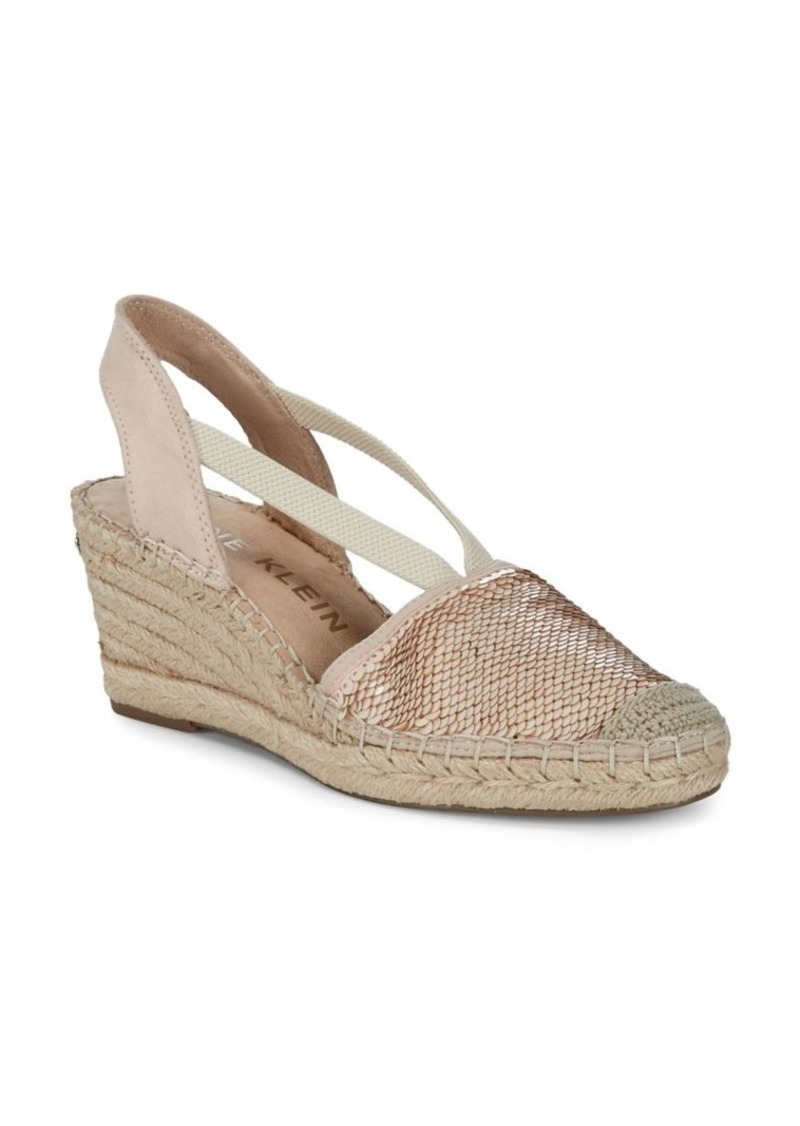 ca54a9f8065 Anne Klein Anne Klein Abbey Espadrille Wedge Sandals