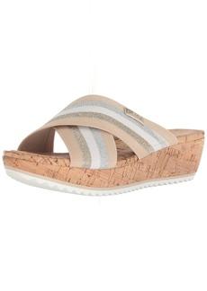 Anne Klein AK Sport Women's Felisha Platform Sandal Wedge