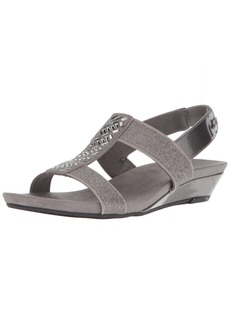 Anne Klein AK Sport Women's Idolize Stretch Wedge Sandal