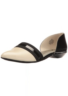 Anne Klein AK Sport Women's ONMYWAY Synthetic Pointed Toe Flat