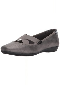 Anne Klein AK Sport Women's ULISA Synthetic Ballet Flat