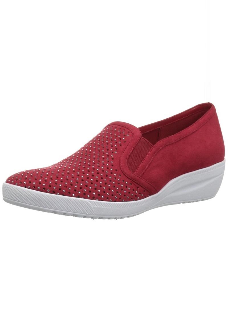 Anne Klein AK Sport Women's Yvanna Sneaker red Fabric