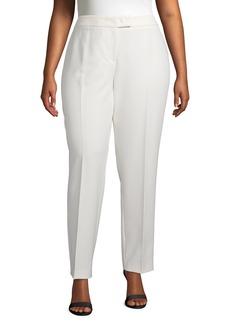 Anne Klein Anne Bowie Stretch Pants (Plus Size)