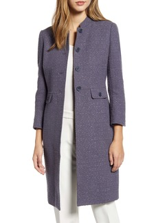 Anne Klein Audrey Tweed Topcoat