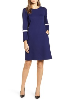 Anne Klein Bell Cuff Long Sleeve Dress