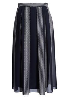 Anne Klein Bilbao Stripe Skirt