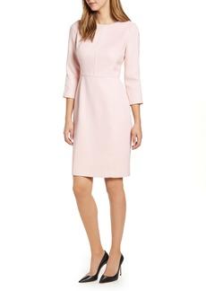 Anne Klein Bracelet Sleeve Sheath Dress