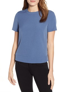 Anne Klein Button Back Crepe Top