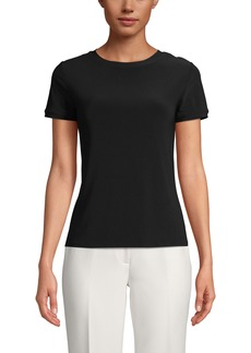 Anne Klein Button Back T-Shirt