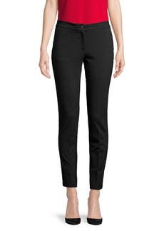 Anne Klein Buttoned Ankle Pants