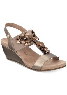 Anne Klein Cassie Wedge Sandals