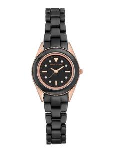 Anne Klein Ceramic Logo Bracelet Watch