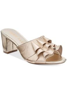 Anne Klein Cerise Dress Sandals
