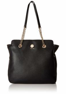Anne Klein Chain Toggle Soft Shopper black