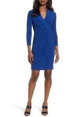 Anne Klein City Faux Wrap Dress