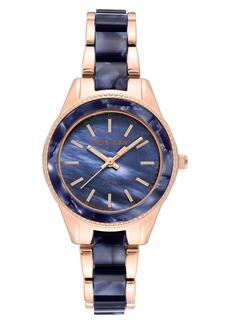 Anne Klein Considered Solar Power Bracelet Watch, 33.5mm