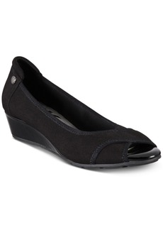 Anne Klein Corner Wedge Heels