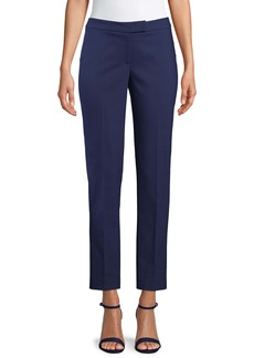 Anne Klein Cotton Blend Double Weave Pant