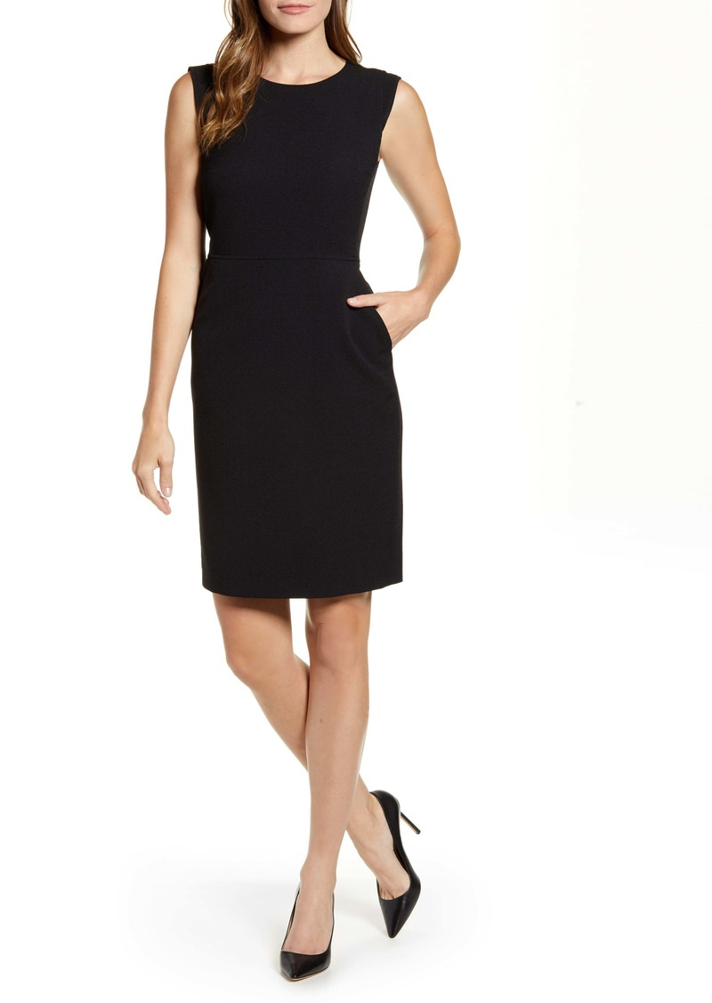 Anne Klein Crepe Sheath Dress