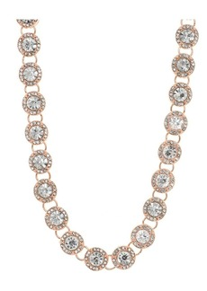 Anne Klein Crystal Collared Necklace