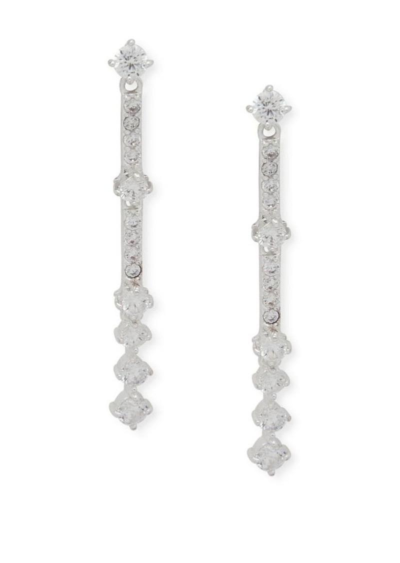 c9943e6304b43 Crystal Linear Earrings