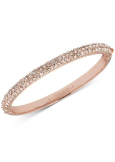 Anne Klein Crystal Pave Bangle Bracelet, Created for Macy's