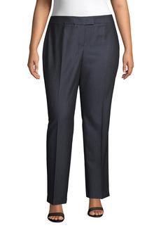 Anne Klein Denim Twill Pants (Plus Size)
