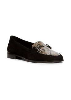 Anne Klein Dezso Snake Printed Loafers
