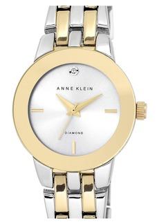 Anne Klein Diamond Accent Bracelet Watch, 30mm