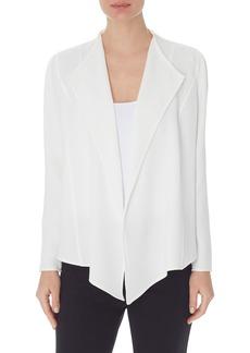 Anne Klein Drape Front Jacket