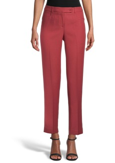 Anne Klein Duke Slim Straight Leg Pants