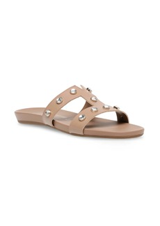 Anne Klein Ely Studded Slide Sandal (Women)