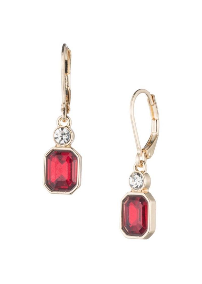 Anne Klein Embellished Drop Earrings