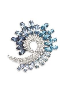 Anne Klein Embellished Spiral Brooch in Gift Box